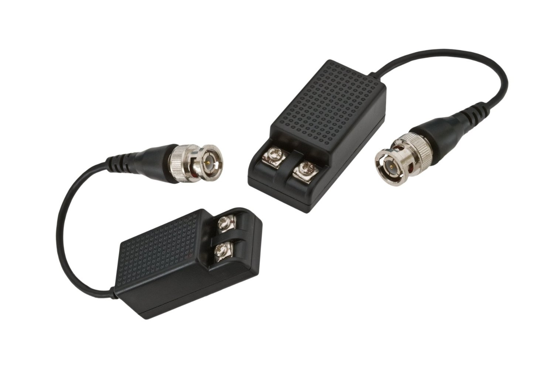 GEM ELECTRONICS BLNSTPT2 2PK * CCTV Balun : BNC Pigtail - Scrw T