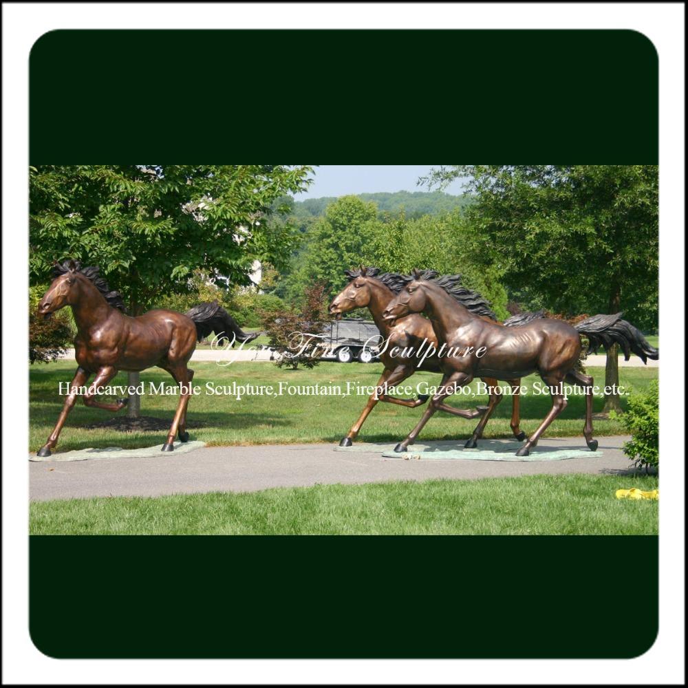 Bronze Running Horse Statue Wholesale, Running Horses Statues ...