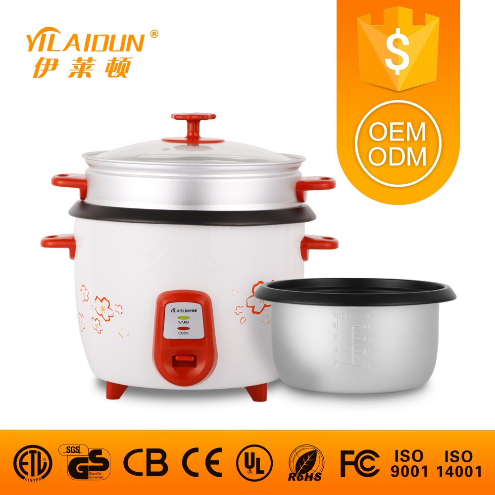 China alibaba national commercial 2.8l 220v OEM / ODM service 1.0/1.5/1.8/2.2/2.8l industrial straight electric rice cooker
