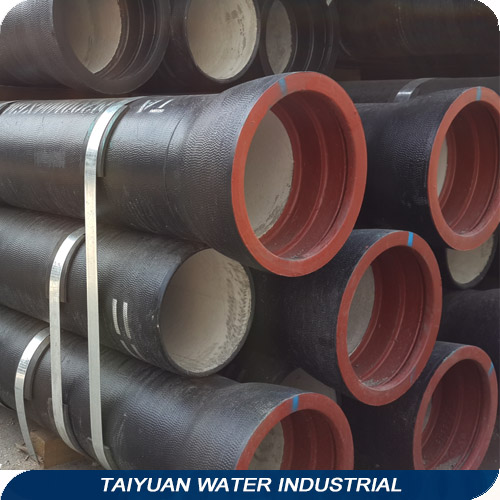 800mm epoxy coated centrifugal casting ductile iron pipe/tube k8
