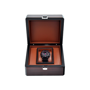 Customize luxury gift package& display watch wooden box