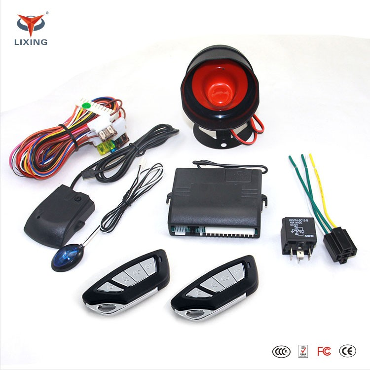 Factory Price Giordon Car Alarm System / Universal One Way