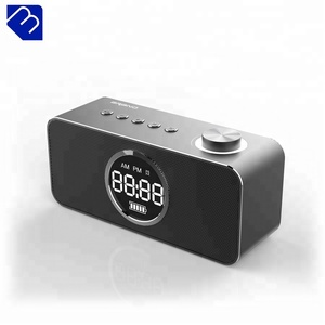 Bluetooth Alarm Clock Hi-end Speaker Design