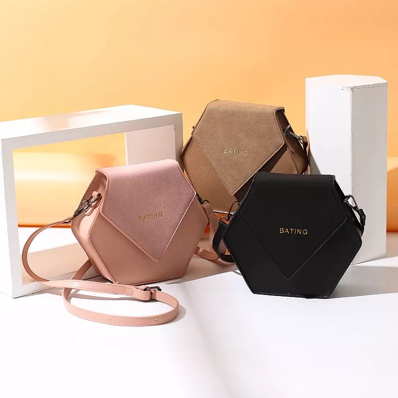 Elegant Customized PU Leather Hand Bag Lady Bag Women's Bag with Lock