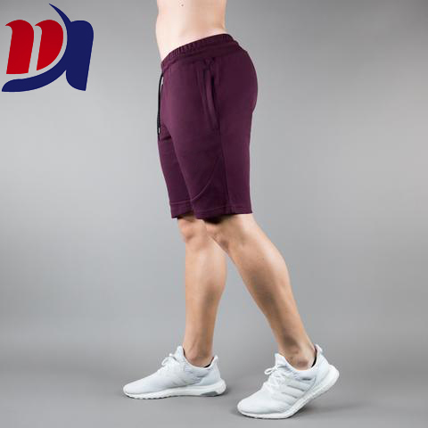 French Terry Mens Training Shorts Athletic Wear Custom Sweat Mens Running Shorts