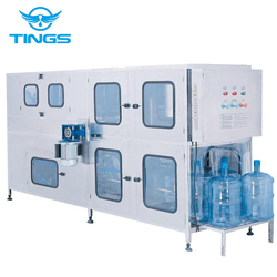 Complete 5 Gallon Mineral Water bottling Machine / 20L mineral water bottling equipment/bottle making machine 200 BPH