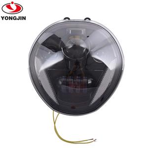 Black bright LED Projection Headlight for D-ucati Monster 821/797/1200