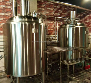 2018 new design 5HL kingfisher beer brewery machine fermenting equipment for taproom hotel pub barbecue