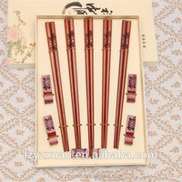Different Models cheap price wooden chopsticks handcarved lucky turtle