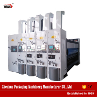 China factory pizza box 3 colors printing machine with great price