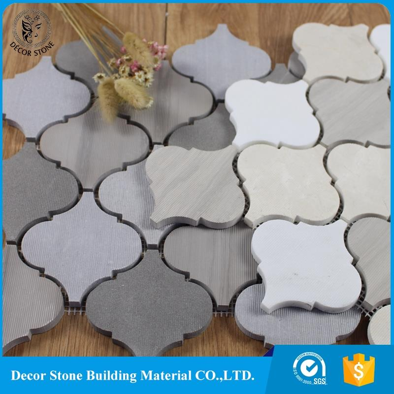 Manufacturer Supplier arabesque mosaic marble wall tile