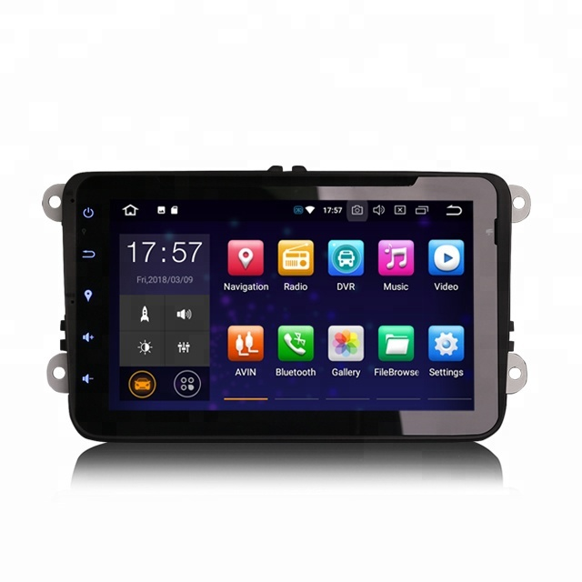 "Erisin ES7825V 8 ""Octa Core Android 8.0 4G WiFi DAB TPMS autoradio GPS pour VW GOLF"