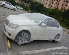 Plastic Car Covers Disposable Car Cover