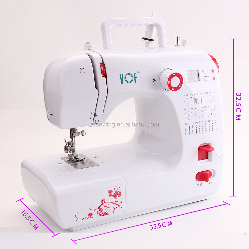 FHSM-702 Zigzag Electric Automatic Sewing Machine for Handbags and T-shirt