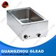 CE&RoHs Approved Electric/Gas bain marie with glass cover