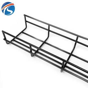 Low voltage light type wire mesh cable tray bracket