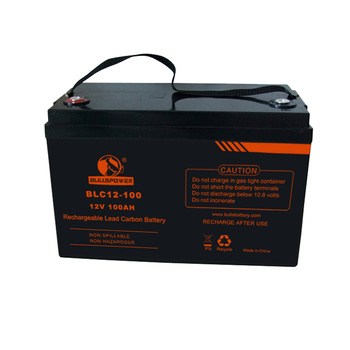 Chinese Battery Manufacturer Maintenance free 12v 2 volt 100ah 200AH 250AH Deep Cycle Lead Carbon Battery for Solar system UPS