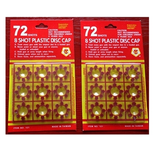 Novelty Fireworks 121cowboy cap plastic 8 shot ring caps for gun toy bullet fireworks