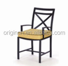 Restaurant and home kitchen used fine furniture for patio dining normal outdoor aluminium chair
