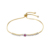 75326 Xuping gold plated adjustable copper thin wire bracelets for women