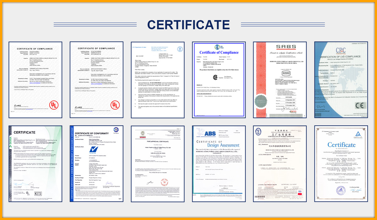 Hebei Huatong Wires&Cables Group Co., Ltd. - Power Cables (LV/MV ...