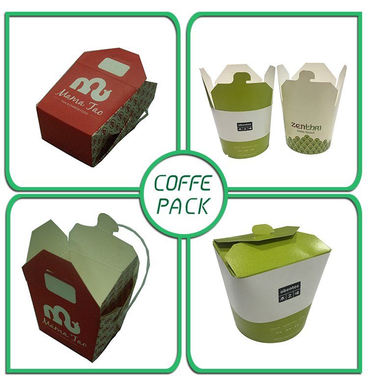Takeaway cute lovely fast food packing for noodles packing