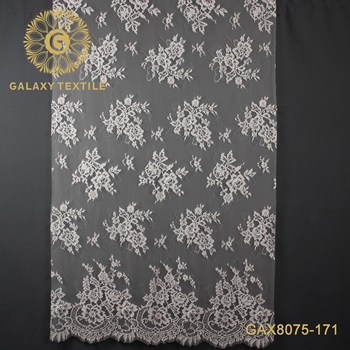 factory wholesale embroidery french lace fabric for wedding party dress
