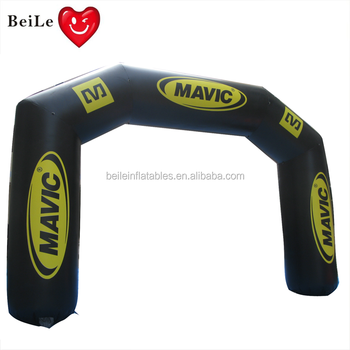 Custom logo cheap inflatable arch rental for sale