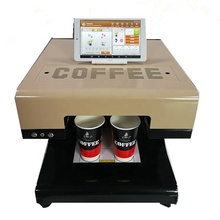 Hot Koop 3d Koffie Art Printer Afdrukken Machine