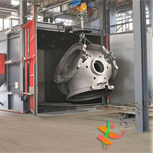 CE High Quality Hook Sand Shot Blasting Machine with Factory Price