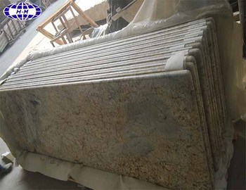 Sunny Flower Granite Prefab Laminate Countertops Wholesale