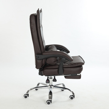 Executive Rotating Ceo Office Chair With Footrest