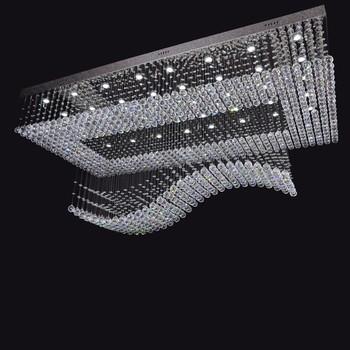 Intertek Lighting Remote Control Chandelier Led Crystal Ceiling Lamp ...