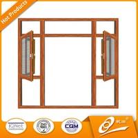 thermal break double glazing aluminium frame sliding glass window