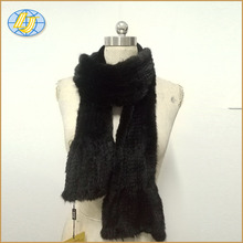 Winter warm women knitted mink fur scarf or fur cape or fur poncho