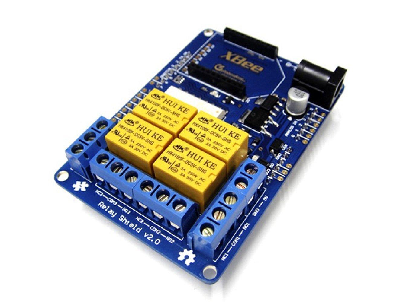 Relay Shield v2.0 for Arduino
