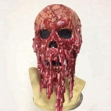 2018 Halloween kostuum party dress up horror <span class=keywords><strong>latex</strong></span> <span class=keywords><strong>masker</strong></span> Goedkope lelijke zombie head maskers