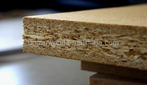 Shandong Supplier cheap price flakeboard/plain particle board