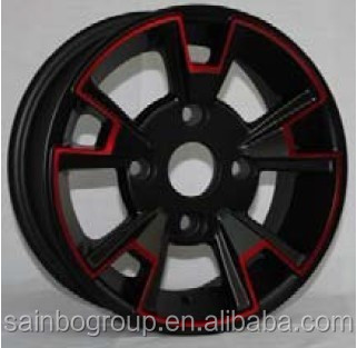 13 14 15 Inch Car Alloy Wheels Black Red Buy Car Alloy Wheels 14 Inchalloy Wheel 15inchcar Alloy Wheels Black Red Product On Alibabacom