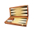 High Quality 18Inches Wood Backgammon Chess Checkers