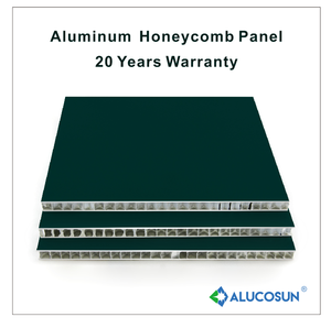 High quality insulated aluminium honeycomb panel