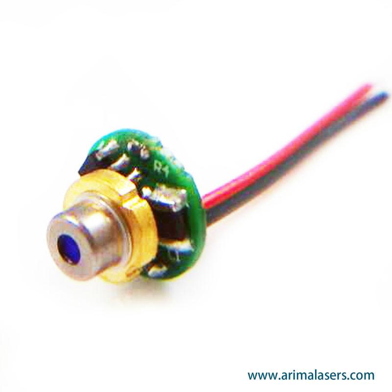 450nm 10mw 3v D5 6mm Blue Laser Diode Module Mini Blue