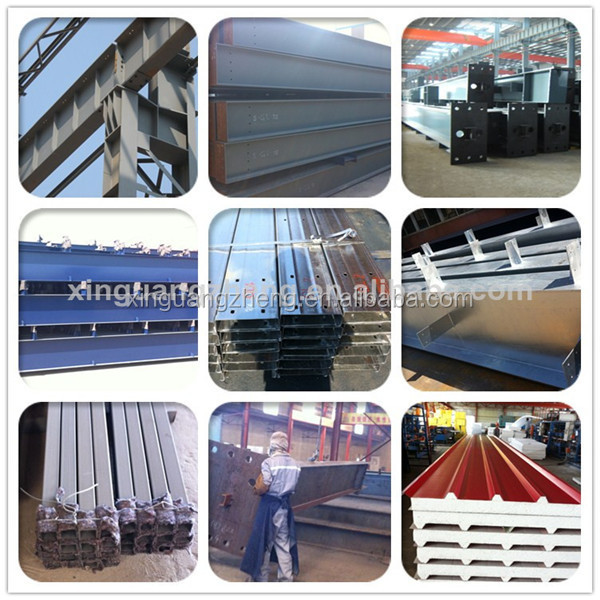light steel structure prefab china metal storage sheds