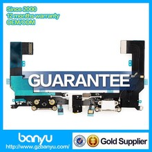 100% brand new original charging port flex cable ribbon for iphone 5s
