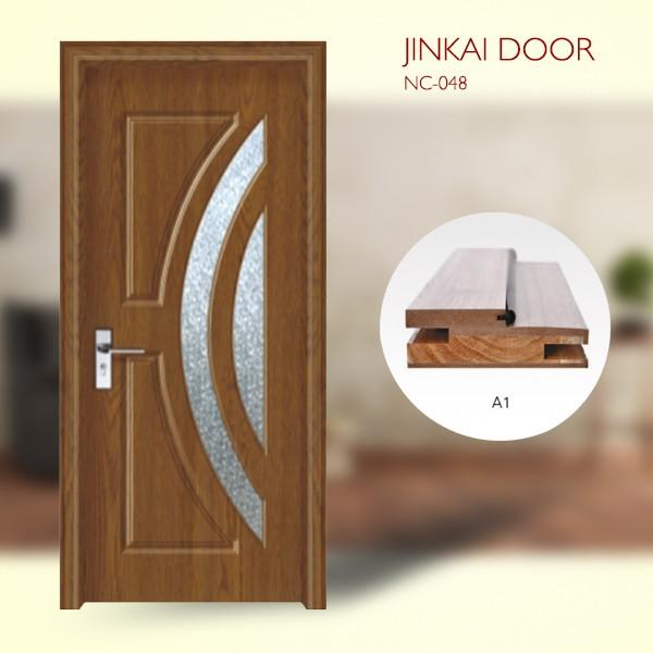 Single Panel Interior Wooden Door New Design For Room