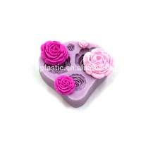 beautiful rose shape fondant molds cake decorating tools beautiful rose shape silicone molds chocolate cake mold