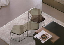 modern lower height stone coffee table set root table coffee