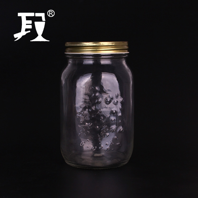1500 ml vít nắp cookie mason jar