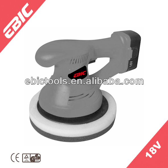 18v rechargeable car polisher