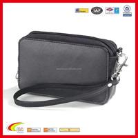 Custom Fashion PU Leather Cosmetic Bag Leather Toiletry Bag for Travel